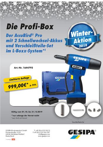 GESIPA Winter-Aktion